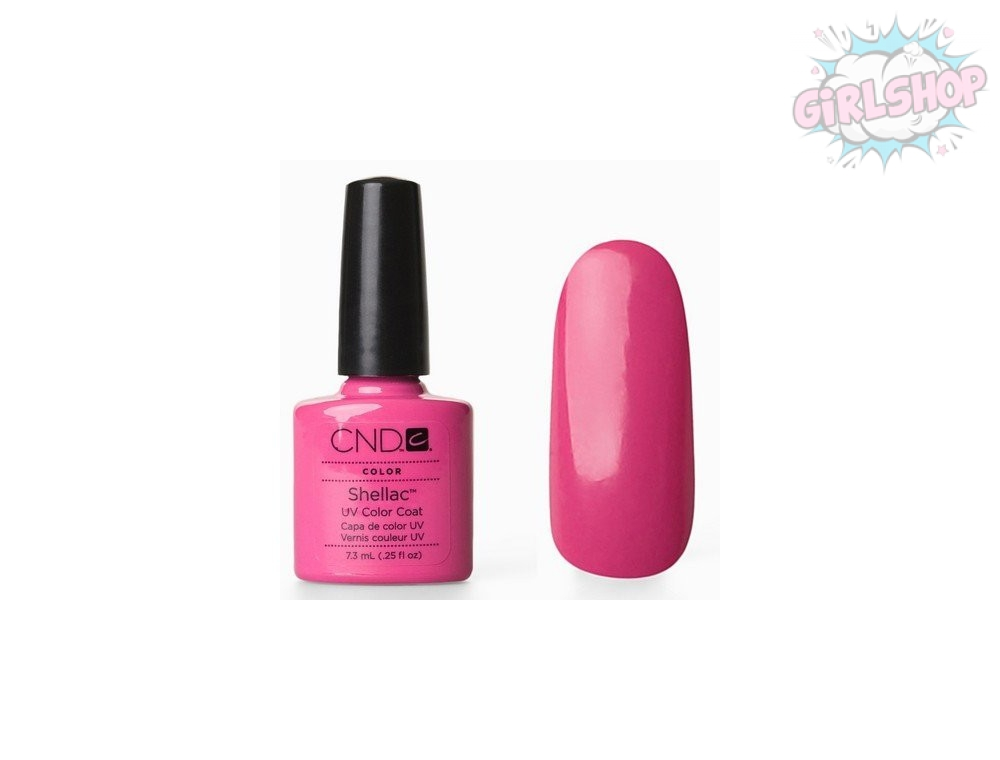 Гель лак CND Shellac Hot Pop Pink